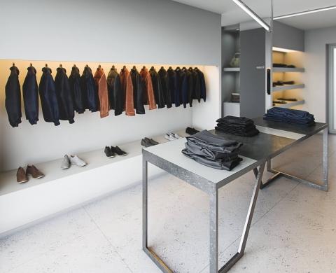 Negozio di Abbigliamento – Venti5